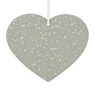 Glitter Stars4 - Silver Air Freshener