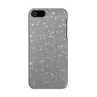 Glitter Stars4 - Silver Incipio Feather® Shine iPhone 5 Case