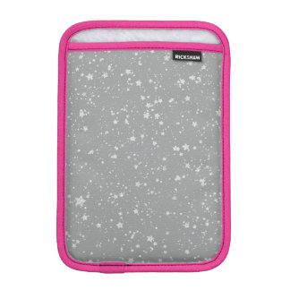 Glitter Stars4 - Silver iPad Mini Sleeve