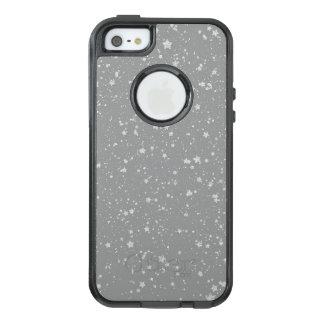 Glitter Stars4 - Silver OtterBox iPhone 5/5s/SE Case