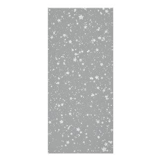 Glitter Stars4 - Silver Rack Card