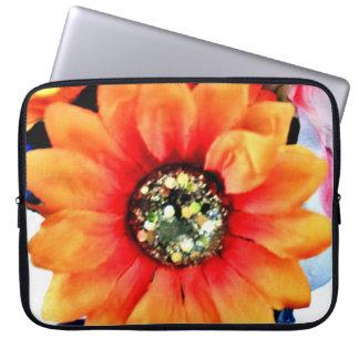 Glitter Sunflower Laptop Sleeve