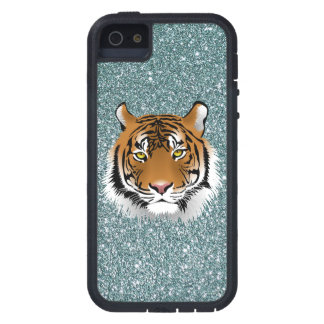 Glitter Tiger Case For The iPhone 5