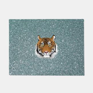 Glitter Tiger Doormat