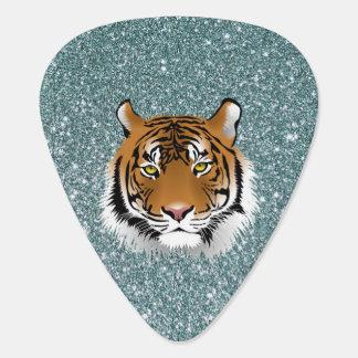 Glitter Tiger Guitar Pick