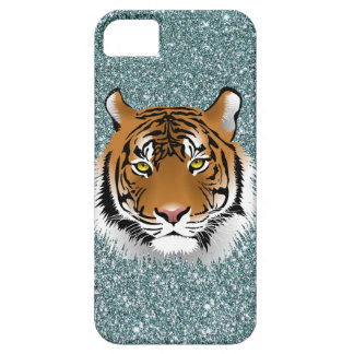 Glitter Tiger iPhone 5 Cover
