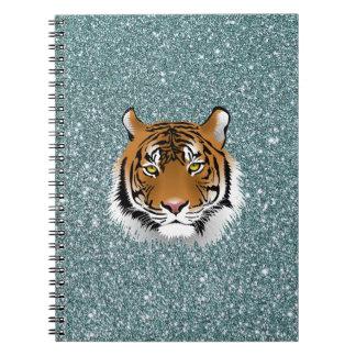 Glitter Tiger Notebooks