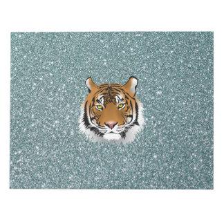 Glitter Tiger Notepads