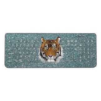 Glitter Tiger Wireless Keyboard