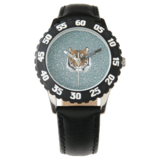 Glitter Tiger Wrist Watch
