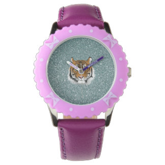 Glitter Tiger Wristwatches