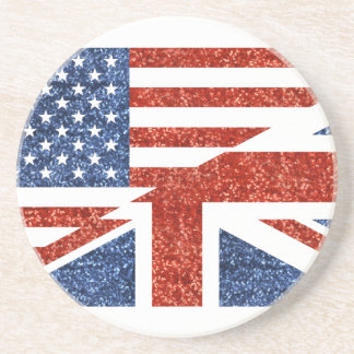 glitter usa uk coaster