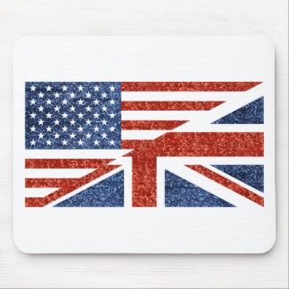 glitter usa uk mouse pad
