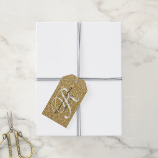 Glitter Wedding Favor Tags | Pack of Gift Tags