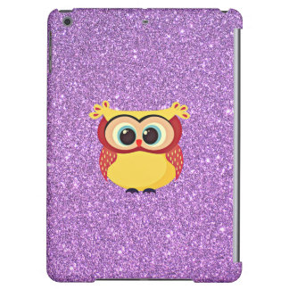 Glitter with Owl iPad Air Covers