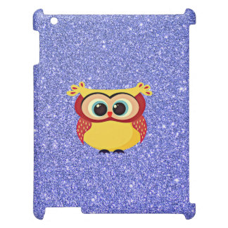 Glitter with Owl iPad Case