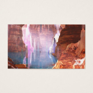 Glittering Caves Bookmarks Business Card