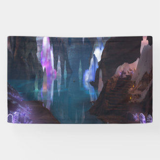 Glittering Caves by Night Banner