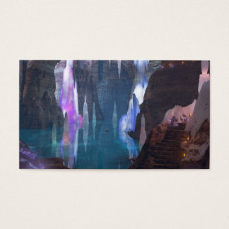 Glittering Caves by Night Bookmarks Business Card