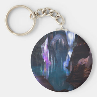 Glittering Caves by Night Keychain