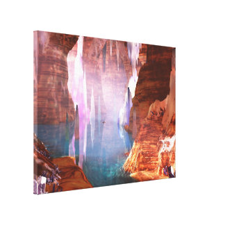 Glittering Caves Canvas Print