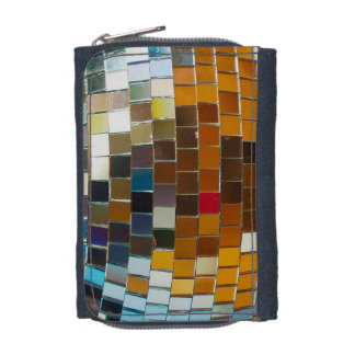 Glittering Disco Ball Wallet