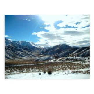 Glittering Mountains Postcard