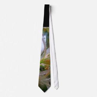 Glittering rain tie