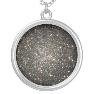 Glittering Stars Silver Plated Necklace