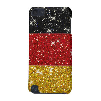 Glitters Germany Flag with Sparkles iPod Touch 5G Cover