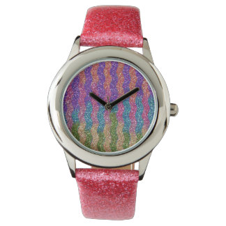 Glitters in Waves Wrist Watches