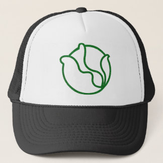 Glittery Head of Cabbage Trucker Hat