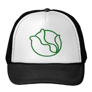 Glittery Head of Cabbage Trucker Hat