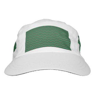 Glittery Holiday Zigzags Hat