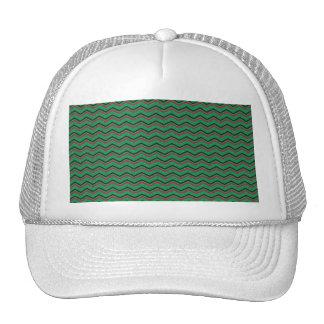 Glittery Holiday Zigzags Trucker Hat