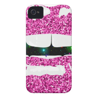 GLITTERY KISS Case-Mate iPhone 4 CASE