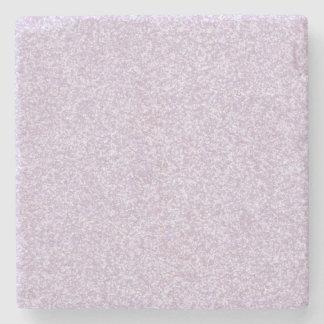 Glittery Lavender Stone Coaster