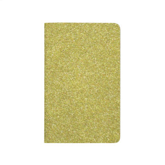 Glittery Shiny Gold Glitters Journals