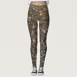 Glitz Glitter Gold Leggings! Leggings