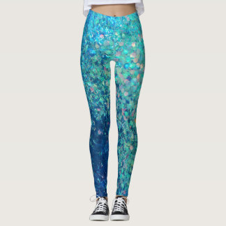 Glitz Glitter Print Leggings! Be one of a kind! Leggings