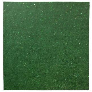 GLITZ Green Napkin