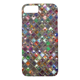Glitz Tiles Multicoloured print iPhone 7 case