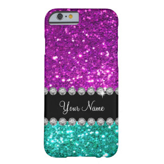 Glitzy Bling Ladies Name Drop Barely There iPhone 6 Case