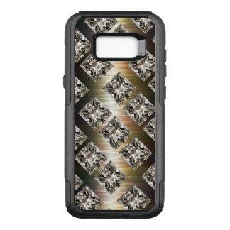 Glitzy Faux Rhinestone Jewels OtterBox Commuter Samsung Galaxy S8+ Case