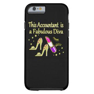 GLITZY GOLD ACCOUNTANT DESIGN TOUGH iPhone 6 CASE
