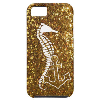 Glitzy Gold iPhone 5s Case Nautical