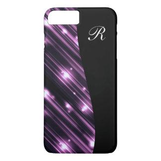 Glitzy Monogram Bling iPhone 8 Plus/7 Plus Case