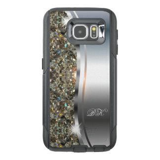 Glitzy Monogram Smartphone Case
