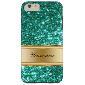 Glitzy Monogram Tough iPhone 6 Plus Case