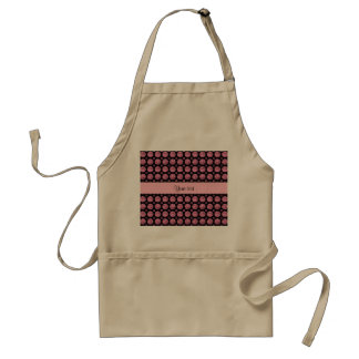 Glitzy Sparkly Pink Glitter Buttons Standard Apron
